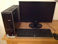 HP S5770 UK-M, SLIMLINE PENTIUM E5800 3.20GHZ, 3GB RAM, HD 500GB, WINDOWS 7,INTEL G41, BUILT IN WIFI