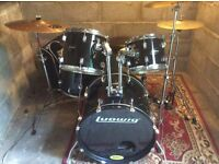 LUDWIG ACCENT 8 PIECE DRUM KIT
