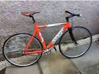 Fixie town bike, single speed