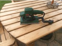 Bosch sander rectangular shape