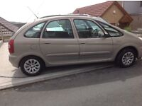 Citroen xsara picasso exceptional condition for the year excellent on fuel mot till Jan 18