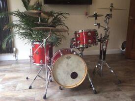 Natal Jazz fushion drums 18 bass maple drums