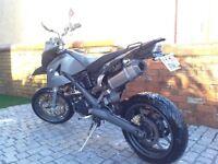 BMW G650 X moto motorcycle