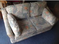 2 seater sofa bed,non smoking,non pet household,old but good condition