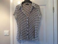 Polka Dot Shirt Size 16
