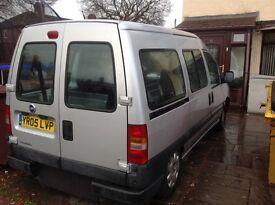 Wheelchair converted van,good condition low mileage 40,000