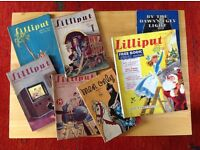 6 Vintage Magazines: 5 Lilliput + 1 Men Only. 1940 to 1954. £3 each or £15 for them all plus P+P £5