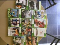 X Box 360 250 GB with 13 games, 3 controllers