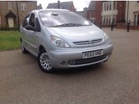 Citroen Picasso 2.0 HDI diesel 1 lady owner from new 11 month m.o.t very reliable car £675 £675