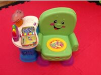 Fisher Price Laugh and Learn chair RRP £35