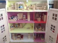 Dolls house with all accessories