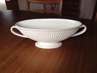 Wedgewood ceramic flower display bowl.