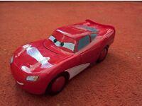 Cars - Lightning McQueen Hawk. Batteries inc. Excellent condition.