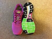 Women's Nike Vomero 8 Trainers, Brand New without box. Size 7. Pink and lime green.