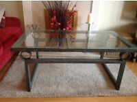 Matching Coffee table and lamp
