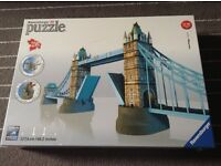 Ravensburger 3D Puzzle - Tower Bridge, brand new unopened