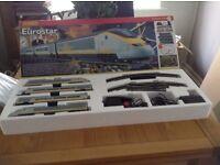 Hornby Eurostar electric train set