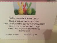 Children's Easter party Good Friday Lindisfarne club