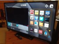 """LUXOR 55"""" Smart FULL HD TV,built in Wifi,Freeview HD,2016 MODEL,excellent condition"""