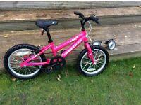 """Girl's 16"""" Ridgeback Melody bike"""