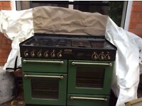 """Gas Cooker """"Range"""" Double Ovens"""