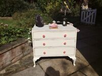 Chest of Drawers, Shabby Chic Vintage