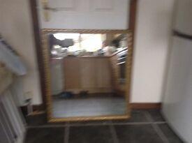 Gilt style mirror