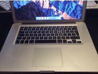 "Macbook Pro 15"", Early 2011, 2.2Ghz, Intel Core i7, 4GB RAM, 500GB Hard Drive, New Battery"