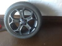 Ford mondeo alloy with new tyre