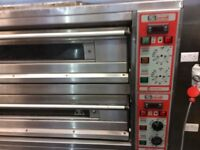Citizen Zanoli electronic 6 pizza oven, 150x70 - n, 400V 50HZ. Norbury sw16
