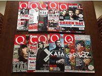 Q music magazines. Last 10 copies.
