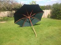 Green Garden Umbrella