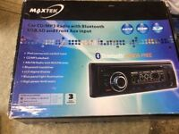 In car Cd/MP3 player with hands free