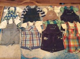 8 x baby outfits in fab condition 0-3 mths & 3-6 mths