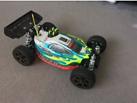 RC car nitro hyper 7 Tq sport 2 great condition very quick