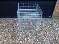 Square dump bins