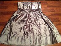 Coast bronze dress brand new size 12