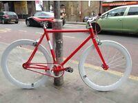Brand new Aluminium NOLOGO single speed fixed gear fixie bike/ road bike/ bicycles c6
