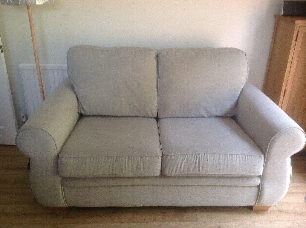 Harveys Dove Grey Evie 2 Seater Sofa In Plymouth Devon