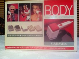 Massager- Carmen Deep Heat Massager - Used