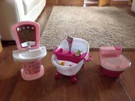 Baby Bjorn bathroom - bath , toilet and vanity unit