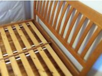 Double Bed Frame Solid Hardwood