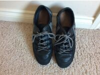 AJ Armani Jeans Men's Trainers black and grey size uk 8