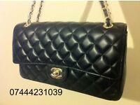 Ladies Black Chanel Flap Bag £45 Shopper Handbag Quilt Design Tote £50