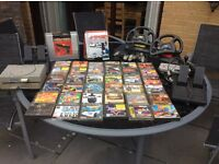 Original PlayStation console with 36 games and accessories
