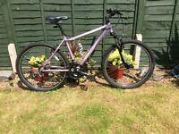 Ladies Claud Butler Valetta Mountain Bike - 18 Inch Frame