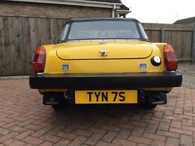 Cherished reg TYN 7S. MARTYN all fees paid
