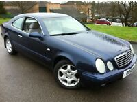 1997 MERCEDES CLK 230 AUTOMATIC **CHEAP TO INSURE AS A CLASSIC**