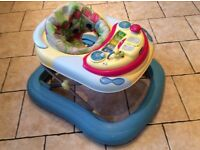 Lights and Sounds Interactive Baby Walker