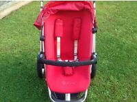 Quinny carrycot and pushchair for sale